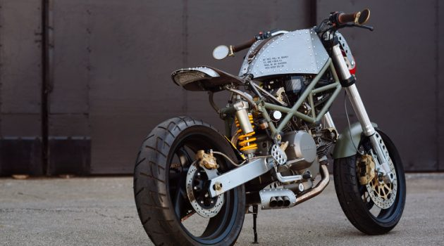 """Mustang Sally"" a P51 Inspired Ducati Monster"