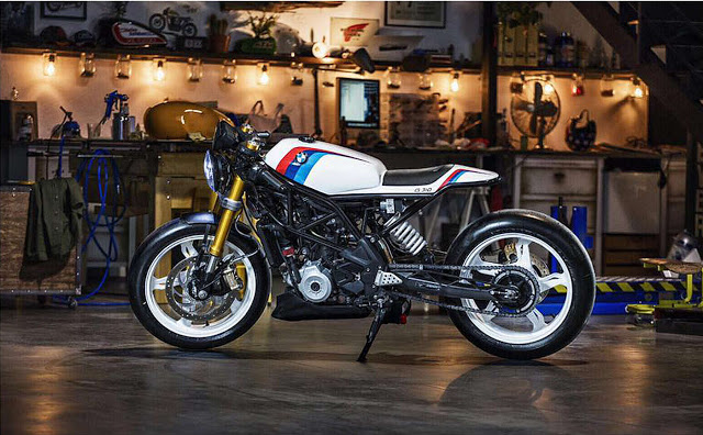 Bmw G310r Cafe Racer By Crd Bikebrewers Com