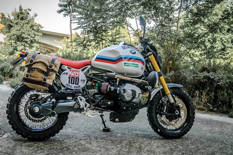 bmw r ninet dakar raid by xtr. Black Bedroom Furniture Sets. Home Design Ideas