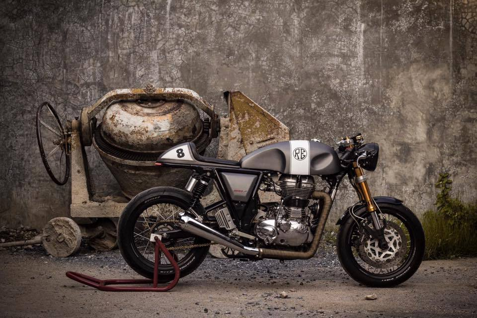 Royal Enfield Continental GT Cafe Racer | BikeBrewers com