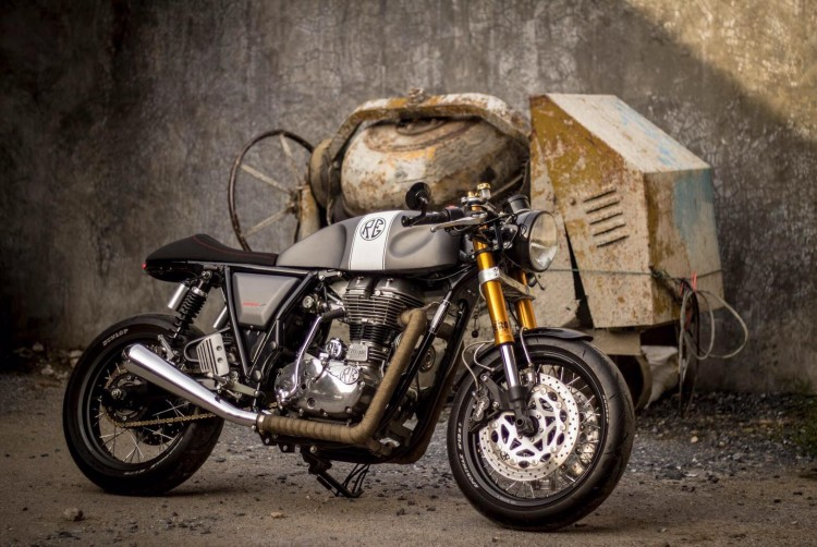 Royal Enfield Continental GT Cafe Racer 3