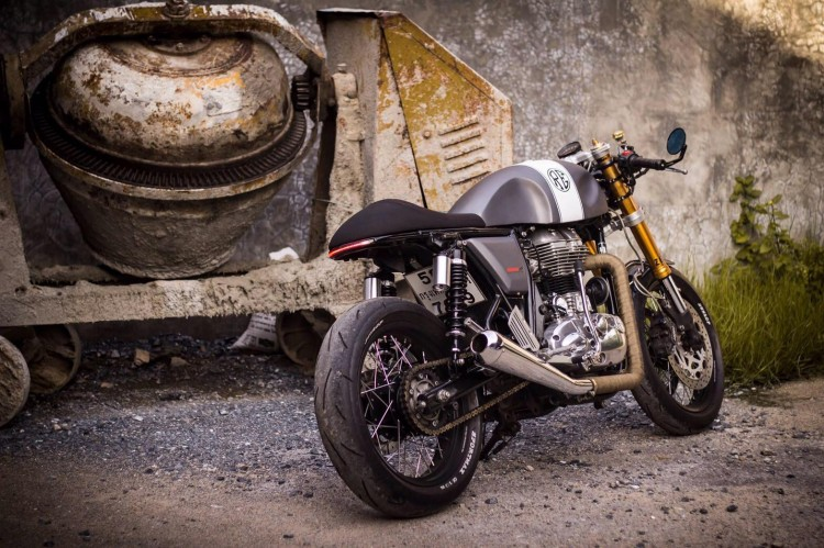 Royal Enfield Continental GT Cafe Racer 4