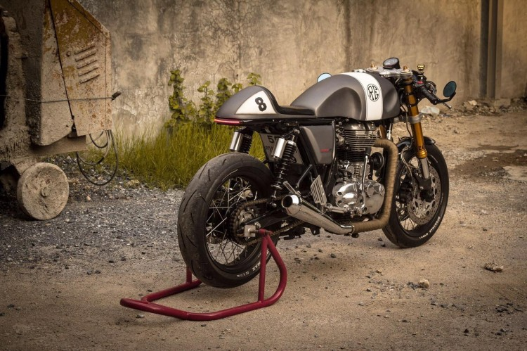 Royal Enfield Continental GT Cafe Racer 5