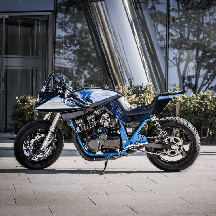 Fastest Bike In The World >> Suzuki Katana Custom by Caferacergarage | BikeBrewers.com