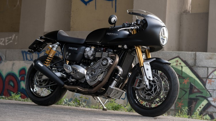 Triumph Thruxton Supercharger
