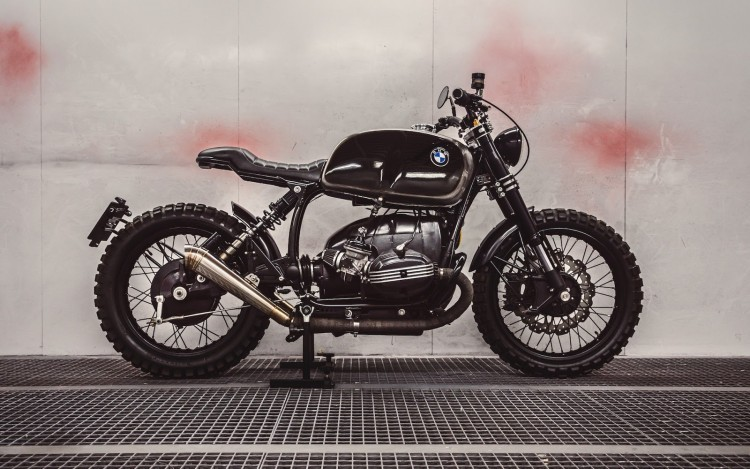 Bmw R100rs Scrambler By Bolt Motor Co Bikebrewers Com