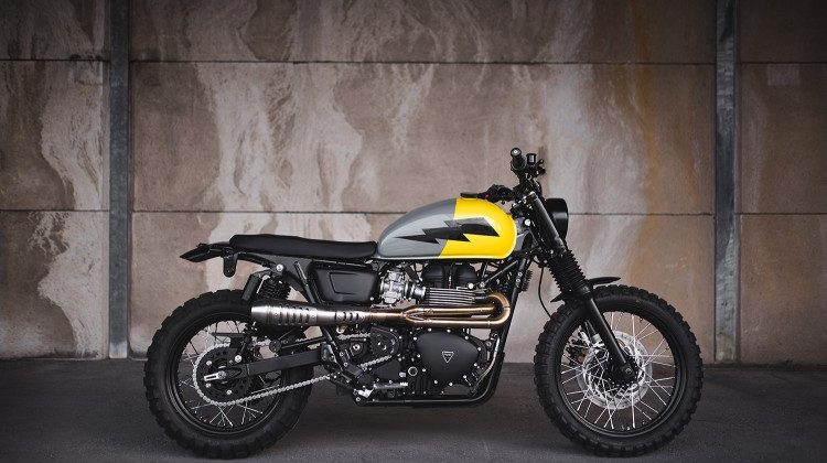 Triumph Scrambler by Injustice Customs