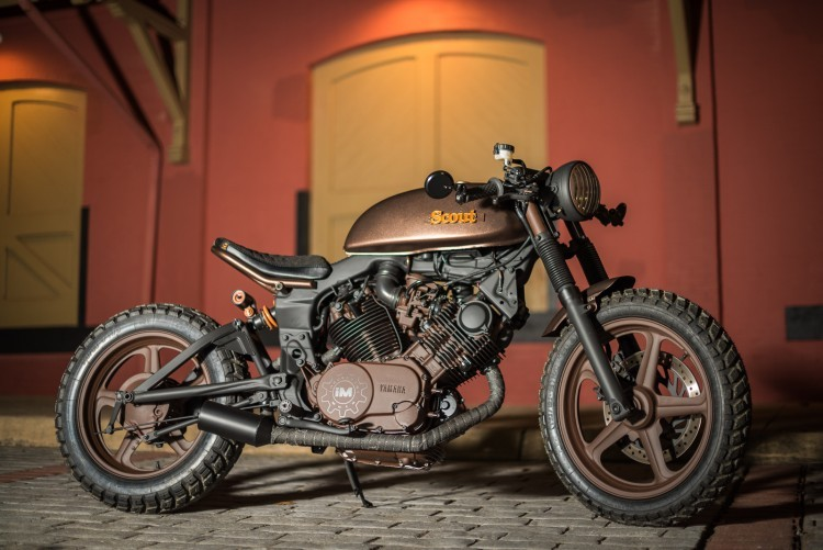 Yamaha XV by Industrial Moto (10)
