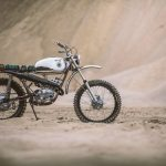 Hodaka Ace Scrambler by Chris Tope