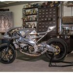 Aprilia 250RS Cafe Racer by Cedric Cevennes