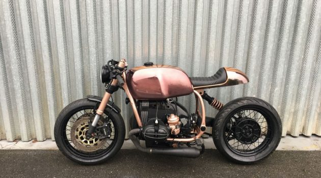 Top Brass! BMW R100 by Vincent Degano