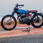 Honda CL350 Brat by John Thompson