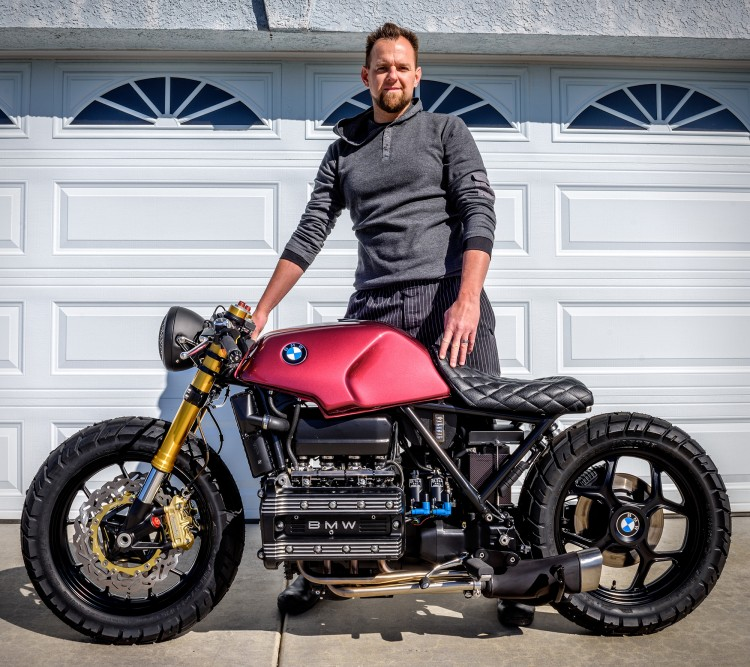 BMW K100 by Trevor Ditson | BikeBrewers com