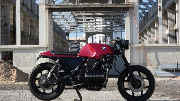 BMW K75 Cafe Racer by Tom Racing Designs