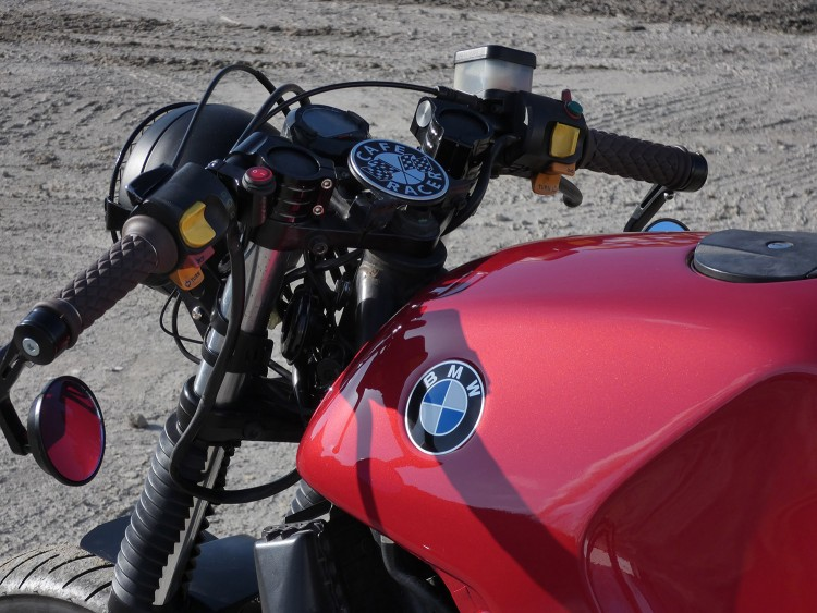Bmw K75 Cafe Racer By Tom Racing Designs Bikebrewers Com