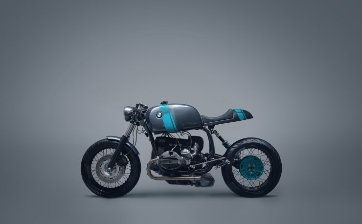 bmw r80 cafe racer by elemental custom cycles. Black Bedroom Furniture Sets. Home Design Ideas