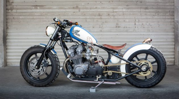 Honda CB750 Bobber by VR Customs