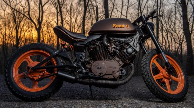 Project Scout II by Industrial Moto