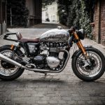 Triumph Thruxton by Raisch: German Monster