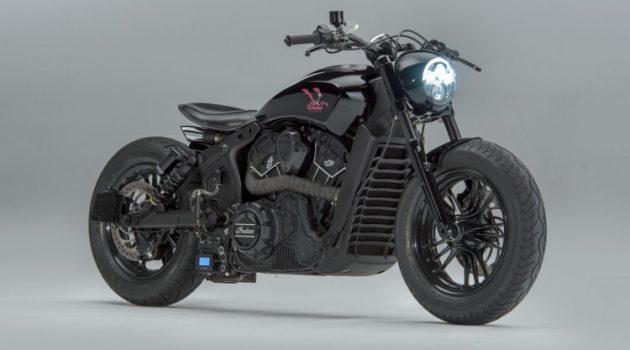 Road Runner: a Custom Indian Scout Sixty by MotoShed