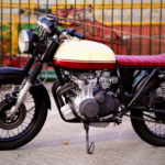 CB 350 F fueled by Riko