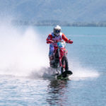 World speed record on lake Como