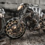 Monster vs Alien by Raw Bike factory