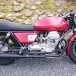 Lady in Red – a '77 Moto Guzzi undressed