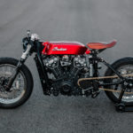 Hasty Flaming Buffalo: an Indian Scout Board Tracker by Luuc Muis Creations