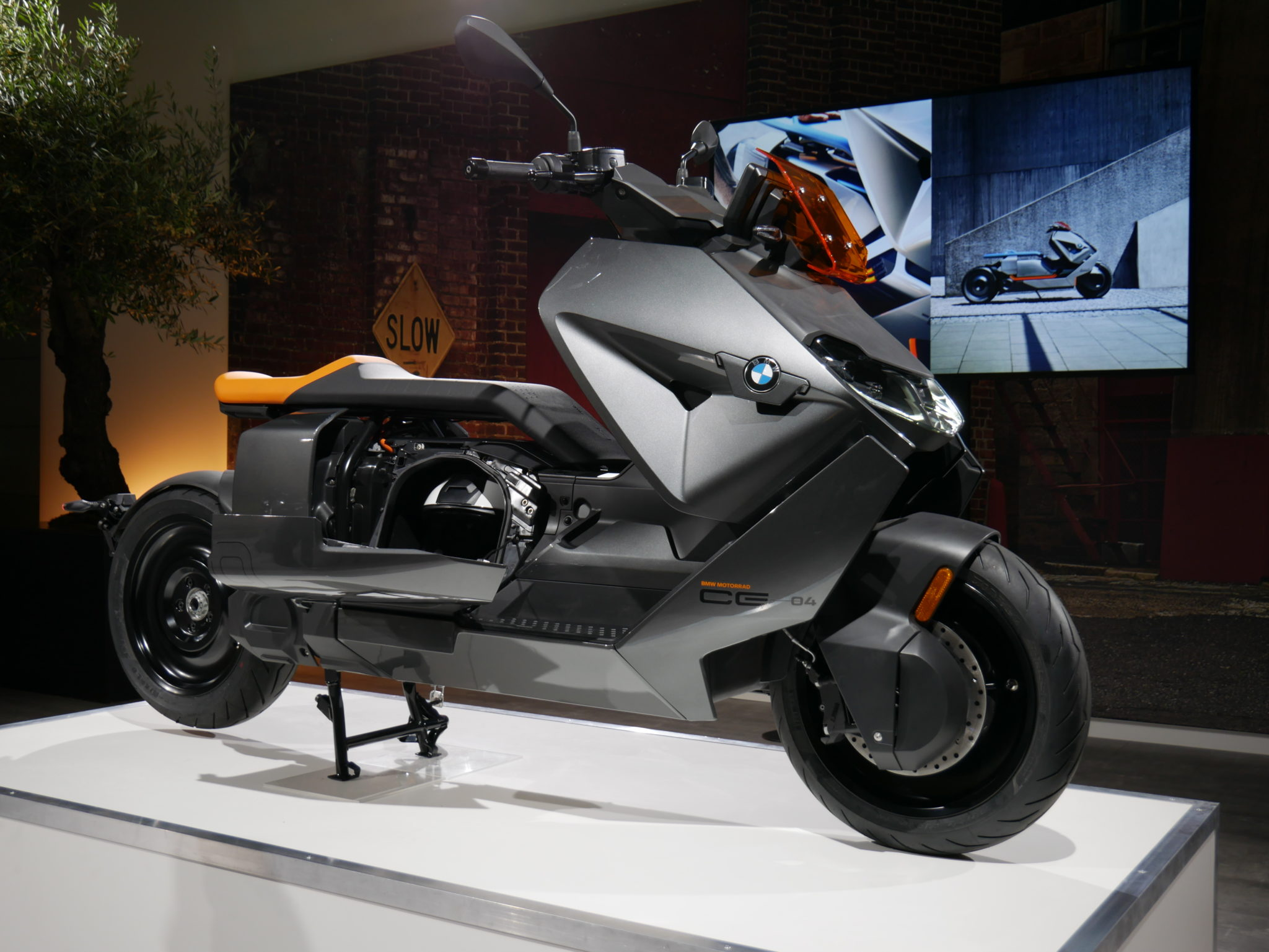 NEW BMW CE 04 Electric Scooter