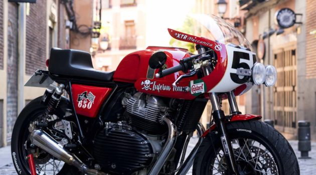"""Bombastic Royal Enfield Continental GT 650 """"Lilith"""" by XTRPepo"""